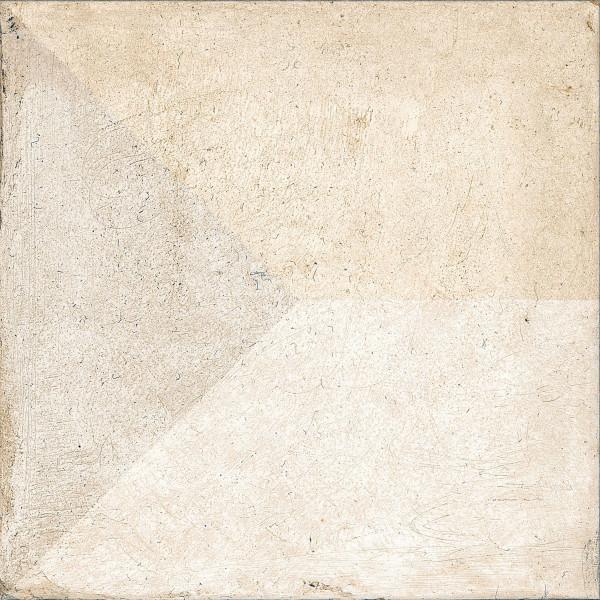 Pavimento TRIS 25x25cm antideslizante pasta blanca porcelánico