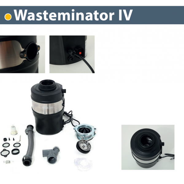 Triturador de basura para fregadero Wasterminator IV Thermex