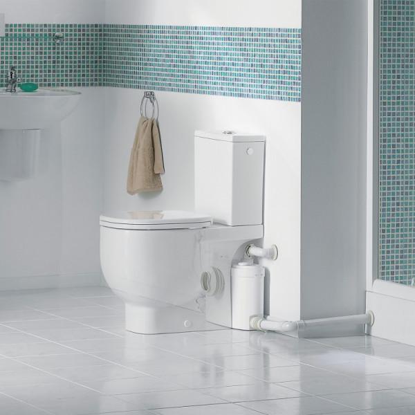 SANISLIM Triturador para WC, lavabo, ducha y bidé SFA