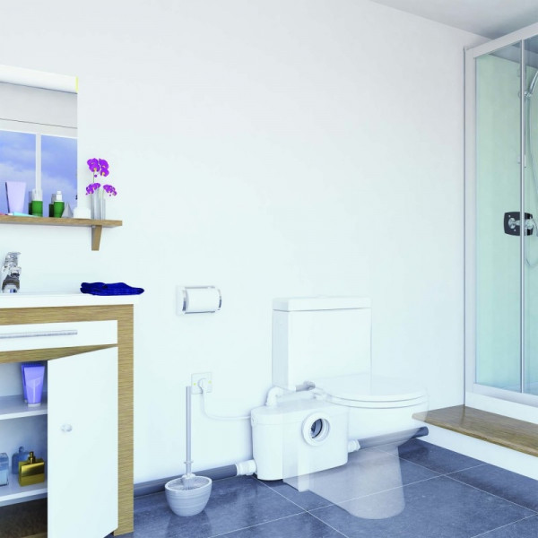 SANIPRO UP Triturador para WC, lavabo, ducha y bidé SFA
