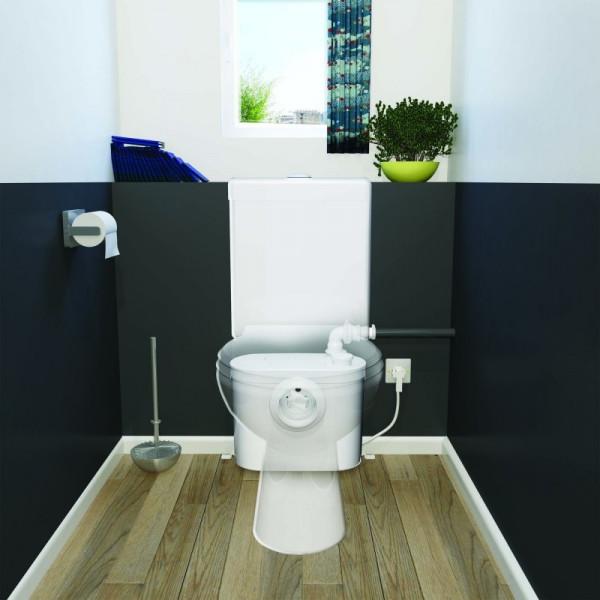 SANITRIT UP Triturador WC con trampilla de acceso SFA