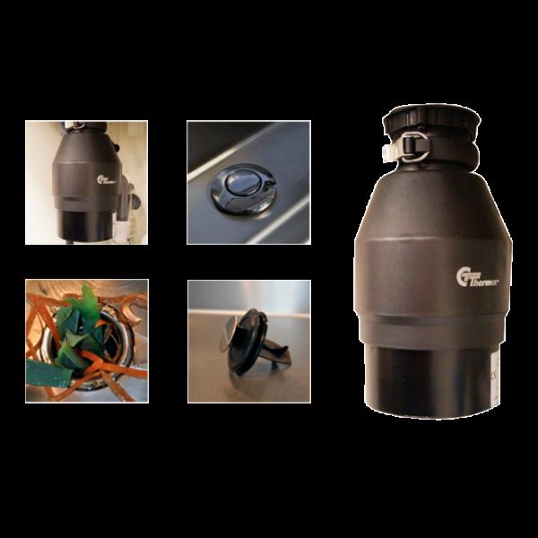 Triturador de basura para fregadero Wasterminator II Thermex