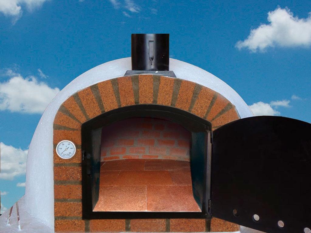 Horno de leña 120x120cm
